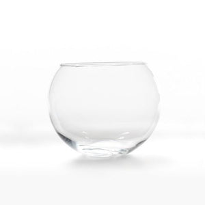 GLASS VASE - FISHBOWL  - SMALL 12CM X 15CM