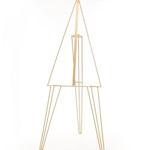EASEL - METAL - GOLD 1.7M