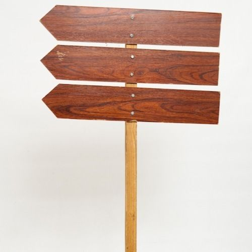 SIGNAGE - DIRECTION ARROWS -  PANELS ARE 62CM X 12CM