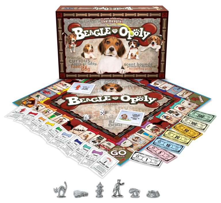 BEAGLE-OPOLY Board Game - Toys & Games - Southern Agriculture