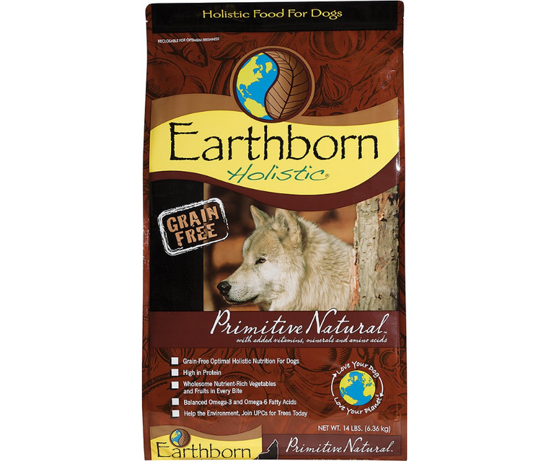 Earthborn Holistic - All Breeds, Adult Dog. Primitive Natural Recipe - Southern Agriculture