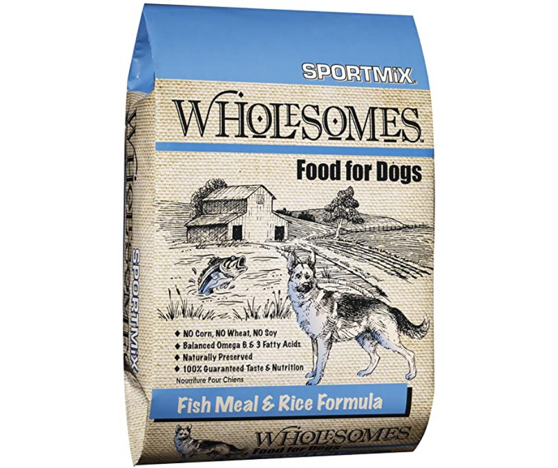 Sportmix Wholesomes - Active Dog, All Life Stages. Fish Meal & Rice Formula - Southern Agriculture
