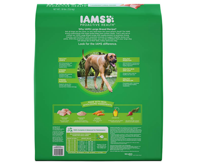 Iams Proactive Health - Large Breed, Adult Dog Recipe - Southern Agriculture