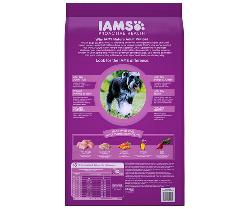 Iams Proactive Health -  Mature Adult Dog Recipe - Southern Agriculture
