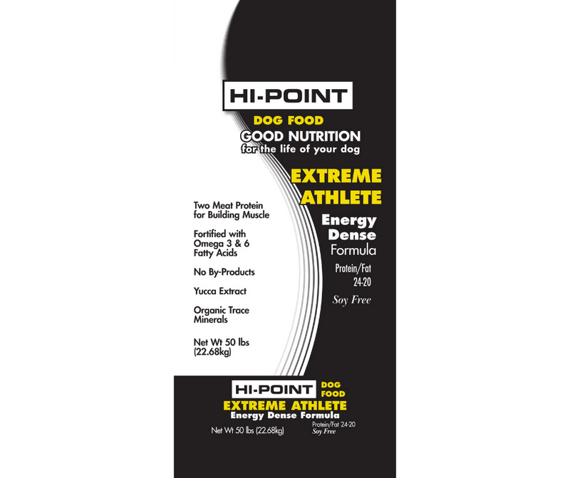 Shawnee Feed HI-Point - Puppies and Adult Dogs. Extreme Athlete 24/20 Recipe - Southern Agriculture