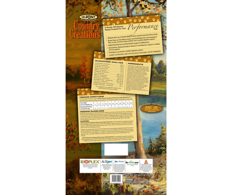 Shawnee Milling Company Hi-Point Country Creations - All Life Stages, Dog Food Recipe - Southern Agriculture
