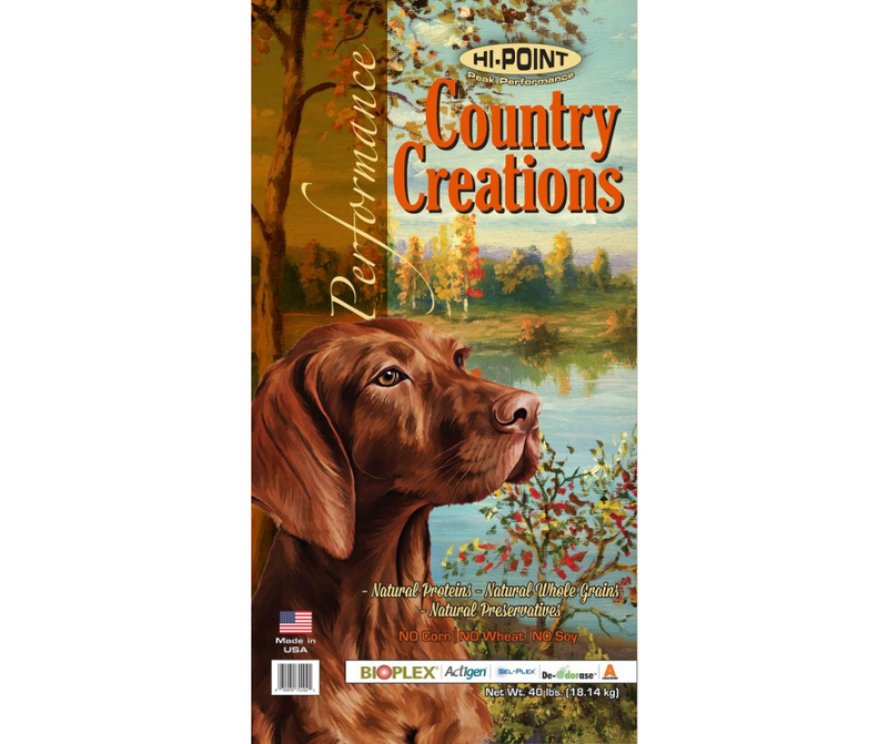 Shawnee Milling Company Hi-Point Country Creations - Active, Adult Dog. Preformance Recipe - Southern Agriculture