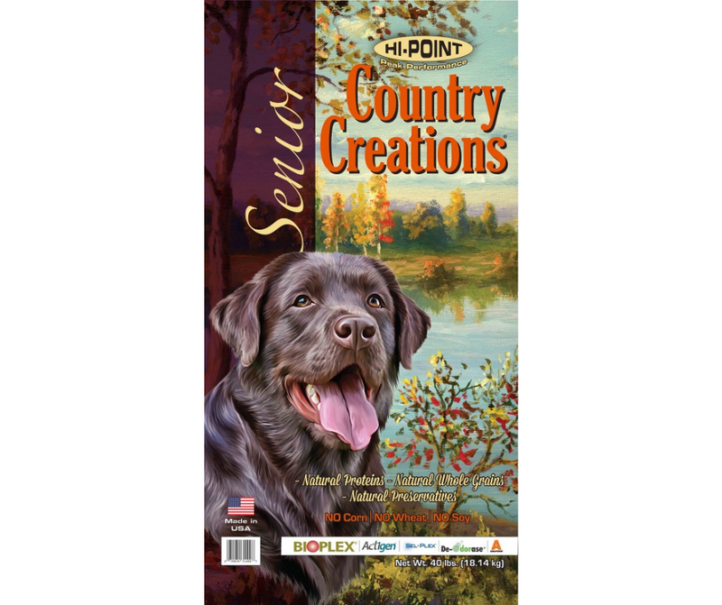 Shawnee Milling Company Hi-Point Country Creations - All Breeds, Senior Dog Recipe - Southern Agriculture