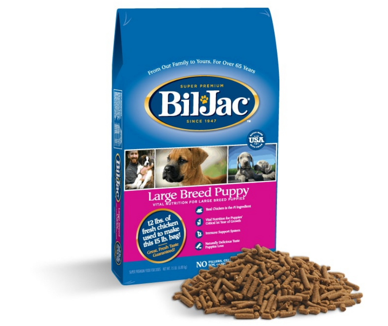 Bil Jac - Large Breed, Puppy. Chicken, Corn, and Oatmeal Recipe - Southern Agriculture