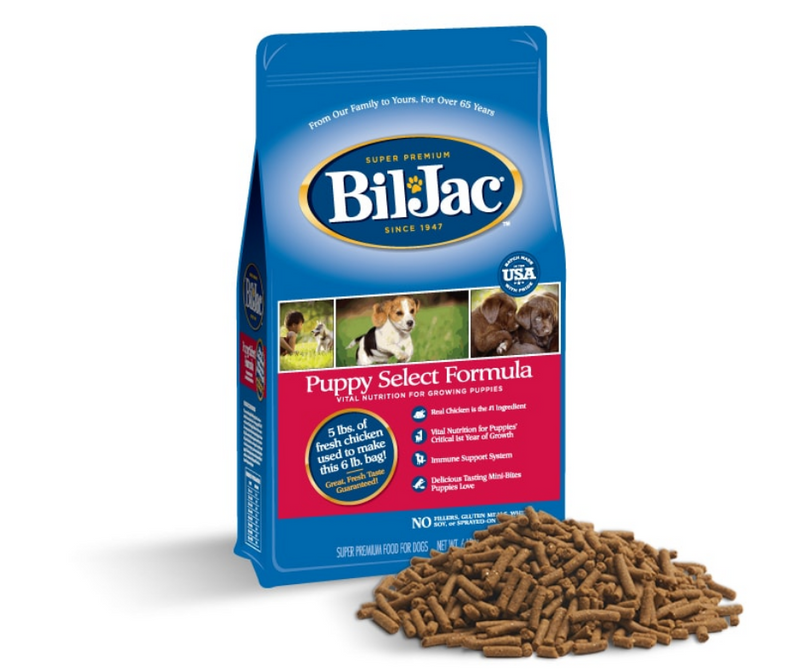 Bil Jac - All Dog Breeds. Puppy Select Formula - Southern Agriculture