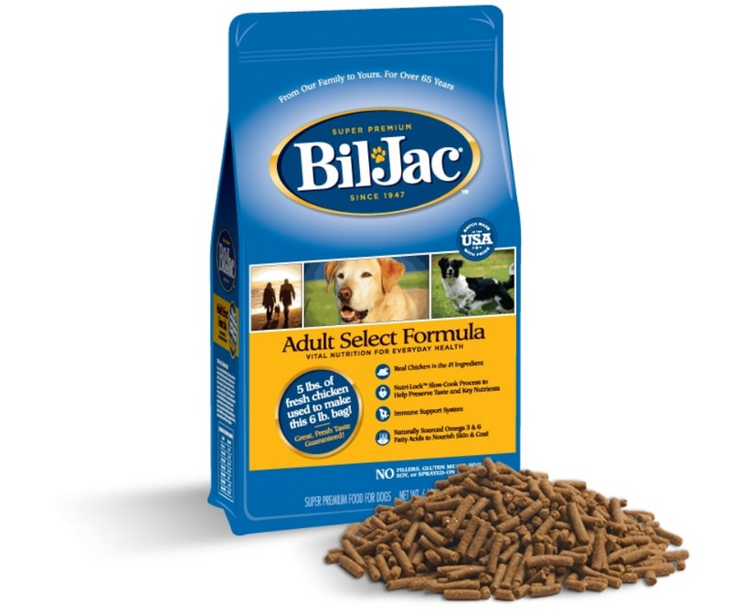 Bil Jac - All Dog Breeds. Adult Select Formula - Southern Agriculture
