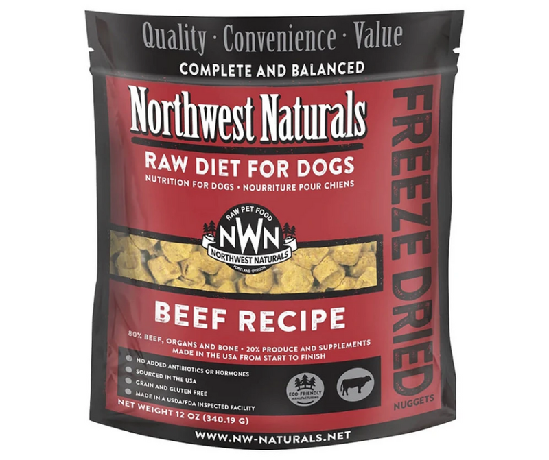 Northwest Naturals Freeze-Dried Beef Nuggets Recipe - Southern Agriculture