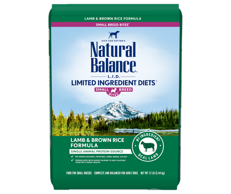 Natural Balance L.I.D. Limited Ingredient Diets - Small Breed, Adult Dog. Lamb & Brown Rice Formula - Southern Agriculture