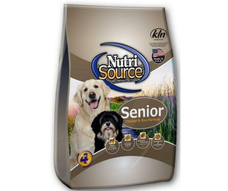 NutriSource - All Breeds. Senior Dog. Chicken and Rice Recipe - Southern Agriculture