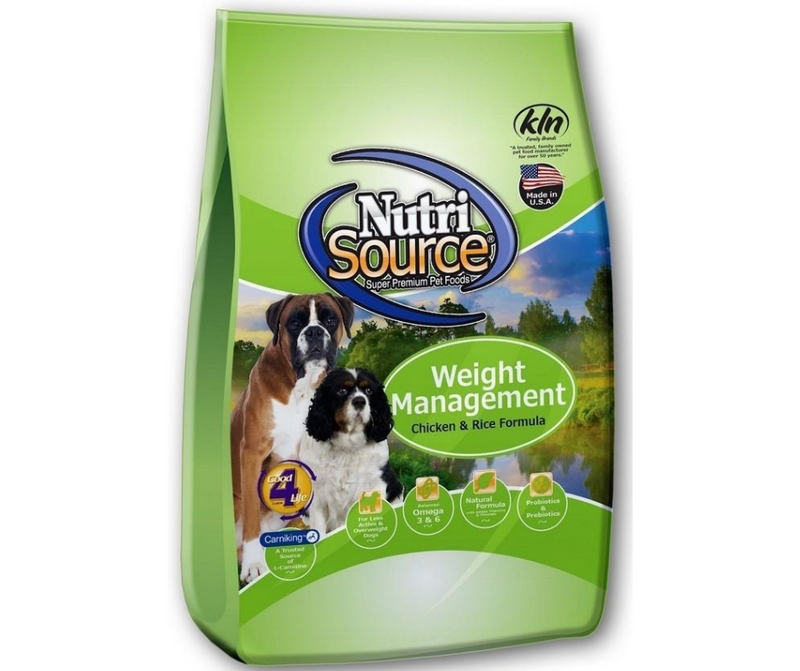 NutriSource - Overweight, Adult Dog. Weight Management Recipe - Southern Agriculture