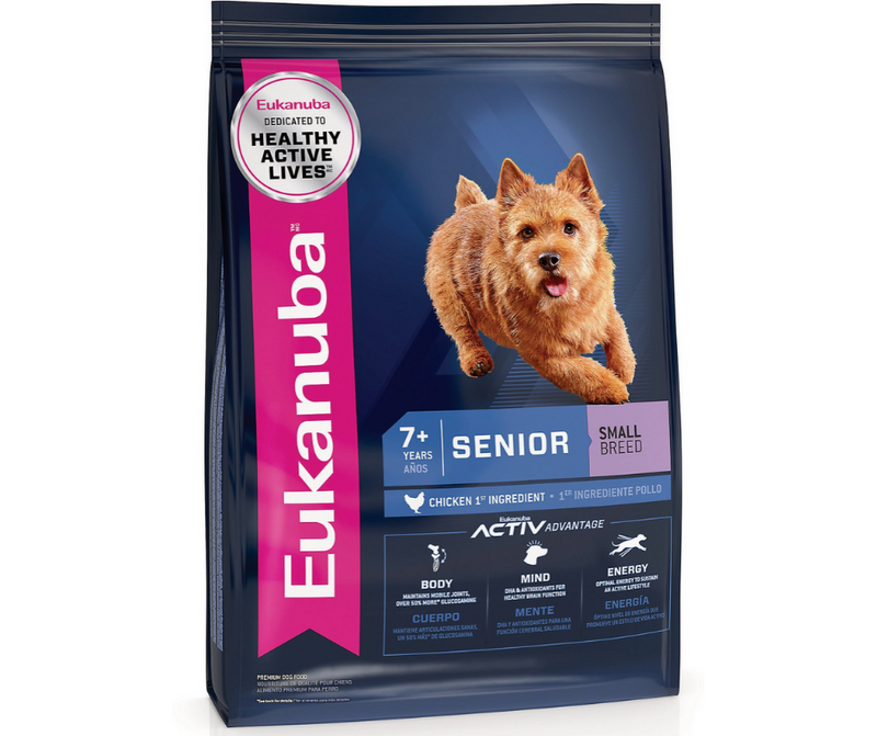 Eukanuba - Small Breed, Senior Dog. Chicken Recipe - Southern Agriculture