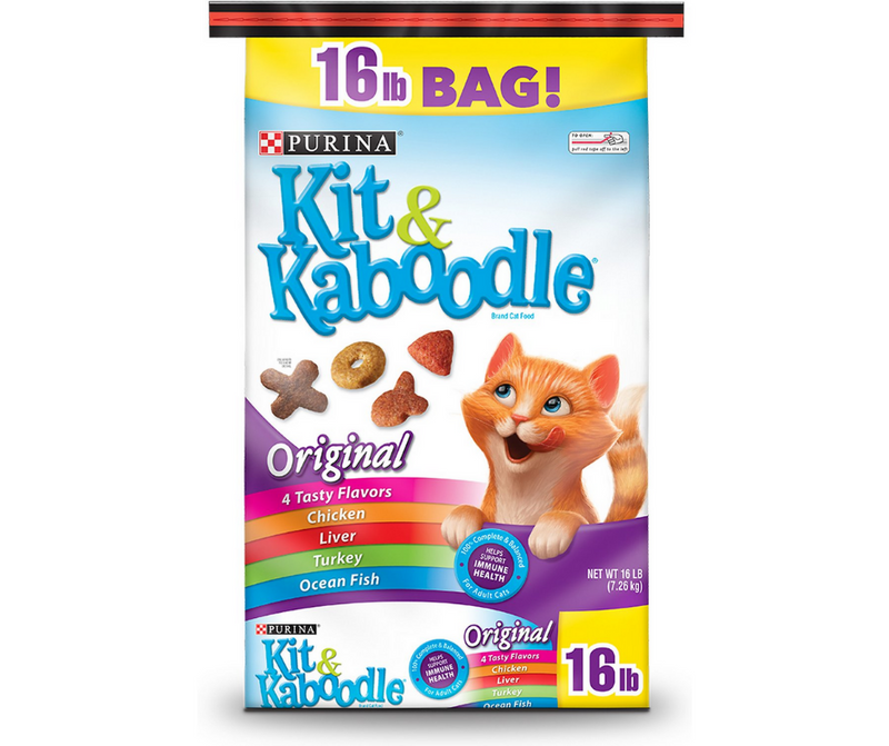 Purina Kit & Kaboodle - All Breeds, Adult Cat. Original Recipe - Southern Agriculture