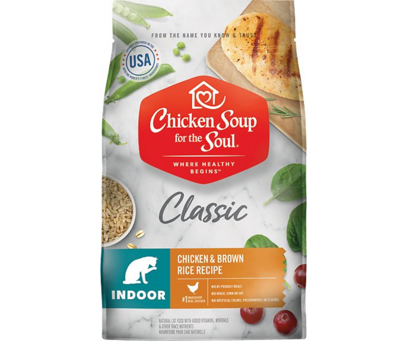 Chicken Soup for the Soul - All Breeds, Indoor Cat. Chicken and Brown Rice Recipe - Southern Agriculture