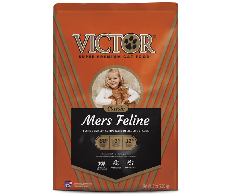 Victor - All Cat Breeds, All Life Stages. Mers Classic Feline Recipe - Southern Agriculture