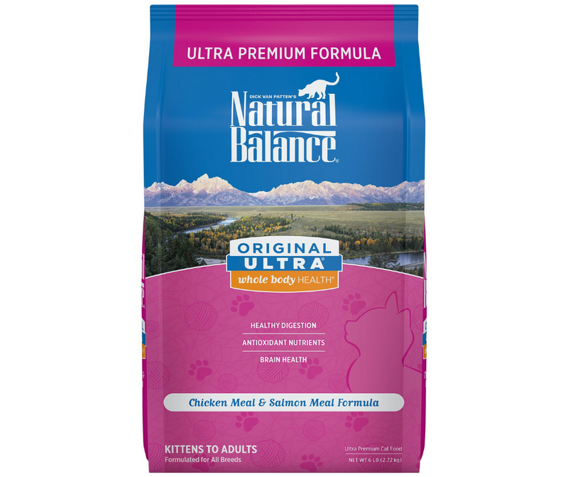 Natural Balance, Original Ultra - All Cat Breeds, All Life Stages. Chicken Meal & Salmon Meal Formula - Southern Agriculture
