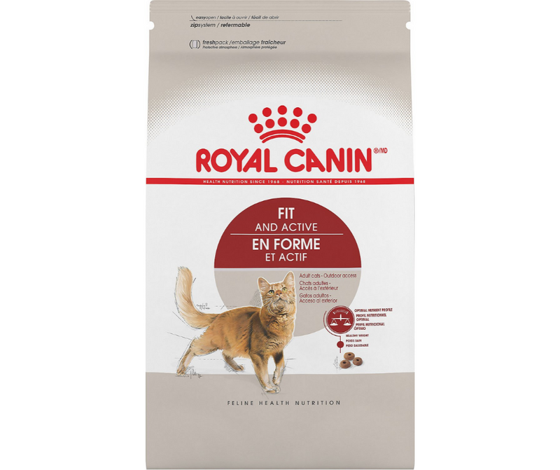 Royal Canin Fit And Active - Active Breeds, Adult Cat. Dry Cat Food - Southern Agriculture