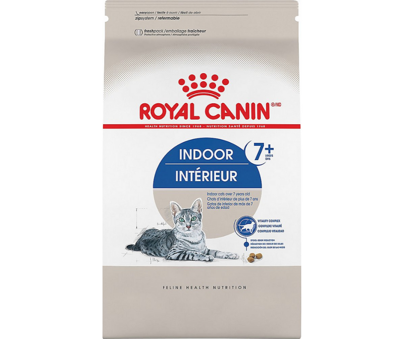 Royal Canin Indoor - All Breeds, Senior Cat. Aging 7+ Dry Cat Food - Southern Agriculture