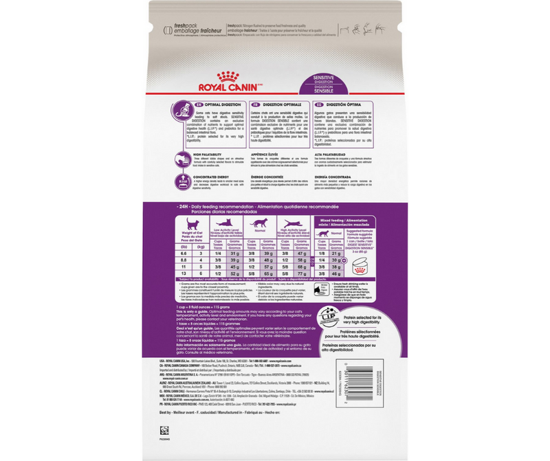 Royal Canin Sensitive Digestion - All Breeds, Adult Cat. Dry Cat Food - Southern Agriculture