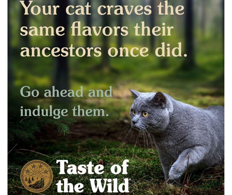 Taste of the Wild - All Cat Breeds, All Life Stages. Lowland Creek Feline, Roasted Quail & Roasted Duck Recipe. - Southern Agriculture