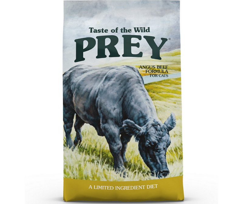 Taste of the Wild PREY - All Cat Breeds, All Life Stages. Angus Beef Limited Ingredient Formula - Southern Agriculture