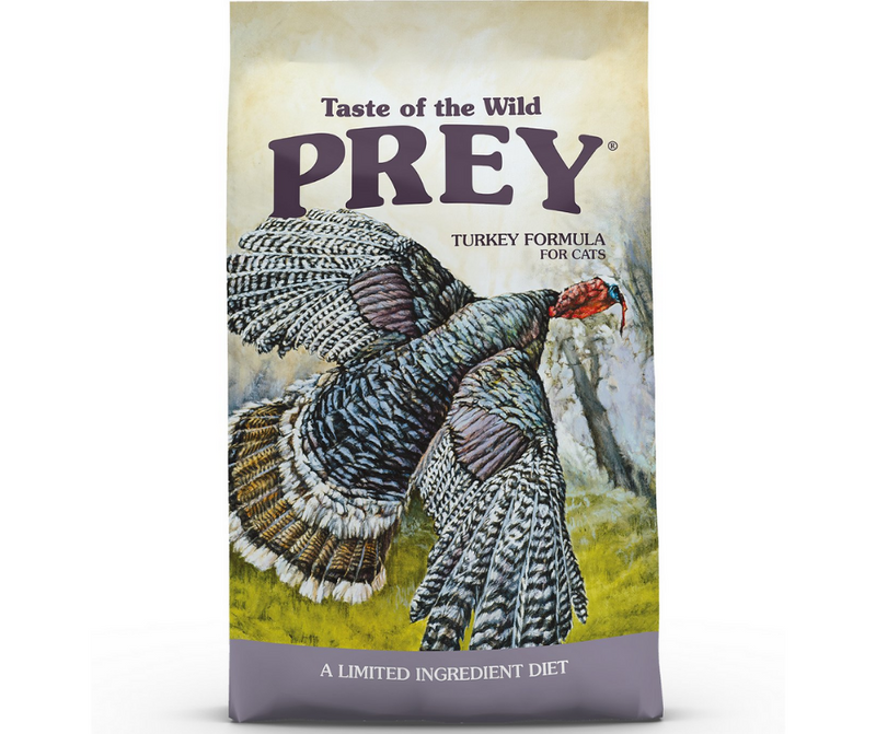 Taste of the Wild PREY - All Cat Breeds, All Life Stages. Turkey Limited Ingredient Formula - Southern Agriculture