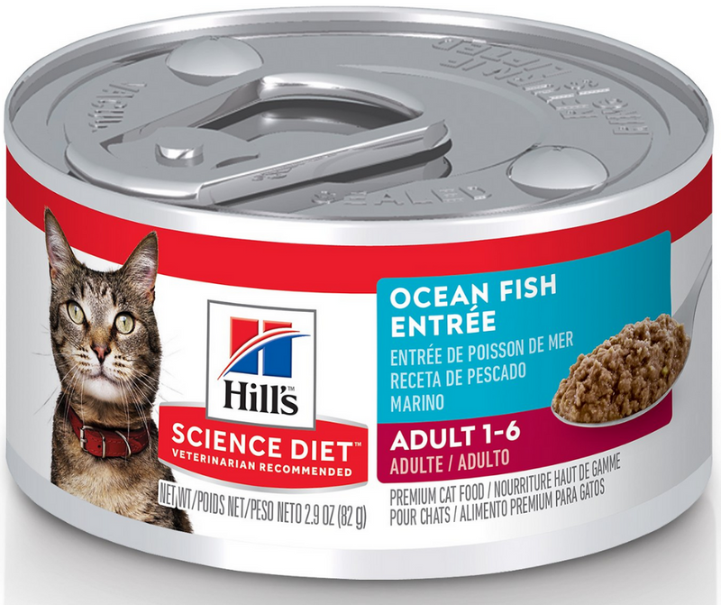 Hill's Science Diet - Indoor Breeds, Adult Cat. Ocean Fish Entrée - Southern Agriculture