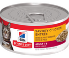 Hill's Science Diet - All Breeds, Adult Cat. Savory Chicken Entrée - Southern Agriculture