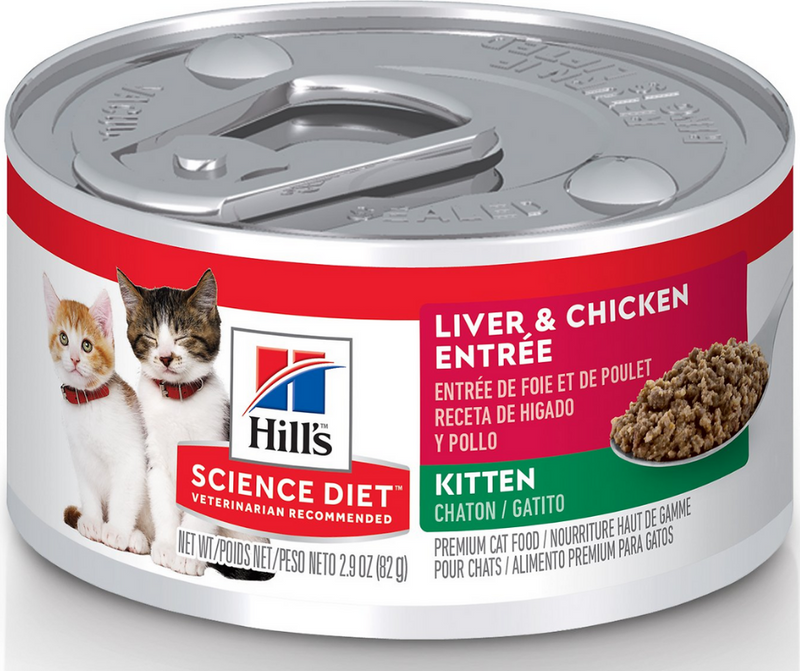 Hill's Science Diet - All Breeds, Kitten. Liver & Chicken Entrée - Southern Agriculture