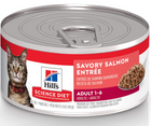 Hill's Science Diet - All Breeds, Adult Cat. Savory Salmon Entrée - Southern Agriculture