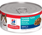 Hill's Science Diet - All Breeds, Senior 7+ Years Old. Tender Tuna Dinner - Southern Agriculture