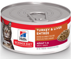Hill's Science Diet - All Breeds, Adult Cat. Turkey & Liver Entrée - Southern Agriculture