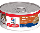 Hill's Science Diet - All Breeds, Senior Cat 7+ Years Old. Savory Turkey Entrée - Southern Agriculture