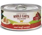 Whole Earth Farms - All Cat Breeds, All Life Stages. Grain Free Real Beef Recipe - Southern Agriculture