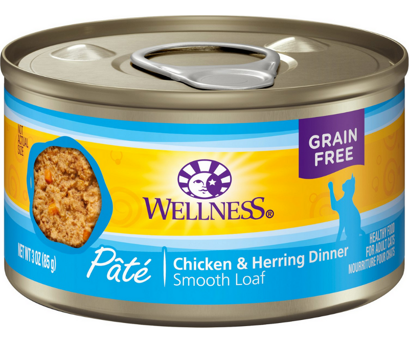Wellness Complete Health Pâté - All Breeds, Adult Cat. Chicken & Herring Recipe - Southern Agriculture