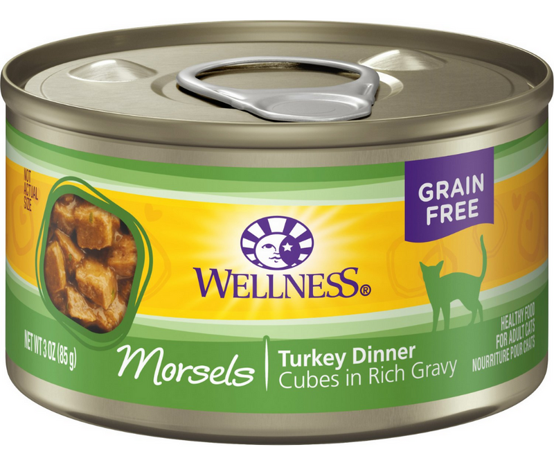 Wellness Complete Health Morsels - All Breeds, Adult Cat. Turkey Dinner Recipe - Southern Agriculture