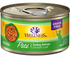Wellness Complete Health Pâté - All Breeds, Adult Cat. Turkey Recipe - Southern Agriculture