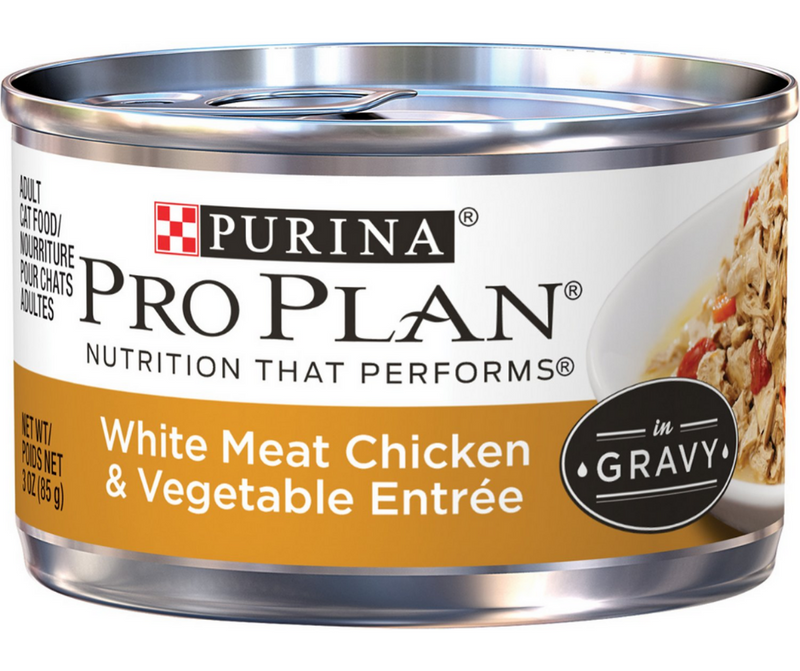 Purina Pro Plan - All Breeds, Adult Cat. White Meat Chicken and Vegetable Entrée - Southern Agriculture