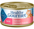 Blue Buffalo Healthy Gourmet - Indoor Breeds, Adult Cat. Salmon Entrée - Southern Agriculture