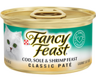 Purina Fancy Feast - All Breeds, Adult Cat. Classic Paté Cod, Sole & Shrimp Recipe - Southern Agriculture