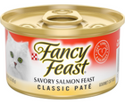 Purina Fancy Feast - All Breeds, Adult Cat. Classic Paté Savory Salmon Recipe - Southern Agriculture