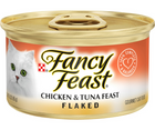 Purina Fancy Feast - All Breeds, Adult Cat. Flaked Chicken & Tuna Recipe. - Southern Agriculture