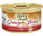 Purina Fancy Feast, Gravy Lovers - All Breeds, Adult Cat. Beef in a Roasted Beef Flavor Gravy, Recipe. - Southern Agriculture