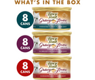 Purina Fancy Feast, Gravy Lovers - All Breeds, Adult Cat. Poultry & Beef Variety Pack. - Southern Agriculture