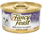 Purina Fancy Feast - All Breeds, Adult Cat. Grilled Beef in Gravy Recipe. - Southern Agriculture