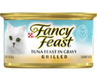 Purina Fancy Feast - All Breeds, Adult Cat. Grilled Tuna Gourmet in Gravy Recipe. - Southern Agriculture